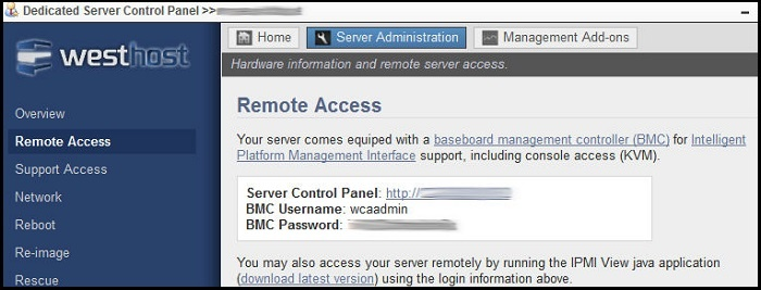 How To Remotely Access My Server Administration Tools