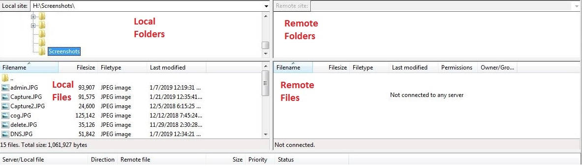 How To Move Website Files With FileZilla - WestHost