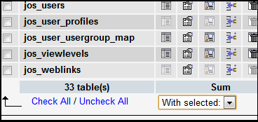 Astonishing How To Optimize Repair My Mysql Tables Or Databases Best Image Libraries Counlowcountryjoecom
